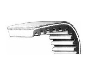 Courroie spéciale variateur - section 28 x 8 mm