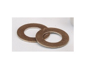 Rondelle de glissement - Bronze / Laiton support acier