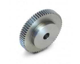 Engrenage INOX à moyeu - Module 1.5 - Pas de 4.71mm