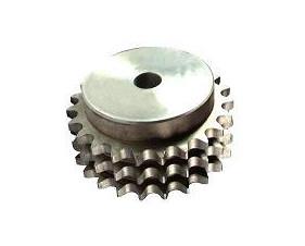 Pignon acier - préalésé - norme iso - triple denture